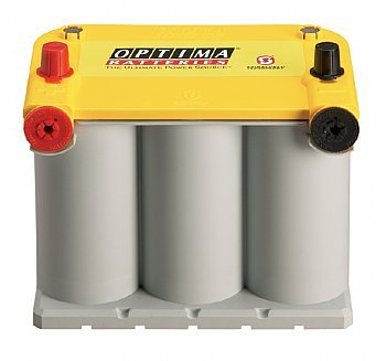 Optima Battery D7525 YELLOW TOP GRP75 8042218 (650 Cca Car Battery compare prices)