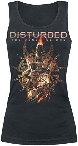 Disturbed Firebird Top donna nero XXL