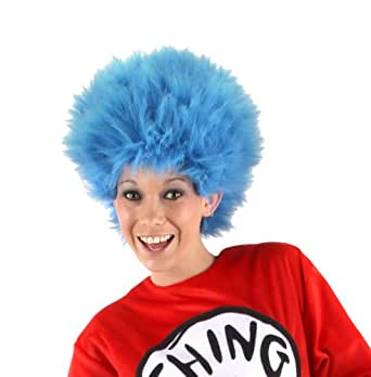 elope Cat in the Hat Thing 1 & Thing 2 Wig