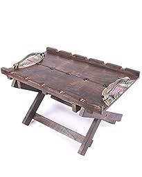 VarEesha Handcrafted Madhubani Bed Tray