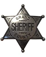 Sheriffstern Grand County nickelfarbend