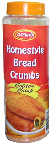 Buy Osem Golden Crisp Bread Crumbs, 15.0-Ounce Packages (Pack of 12) (Osem, Health & Personal Care, Products, Food & Snacks, Baking Supplies)