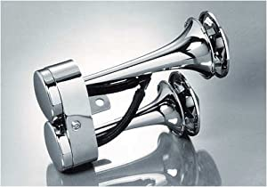 Front Mount Chrome Air Horn Honda GL1500 Valkyrie Standard/Tourer - Frontiercycle (Free U.S. Shipping)