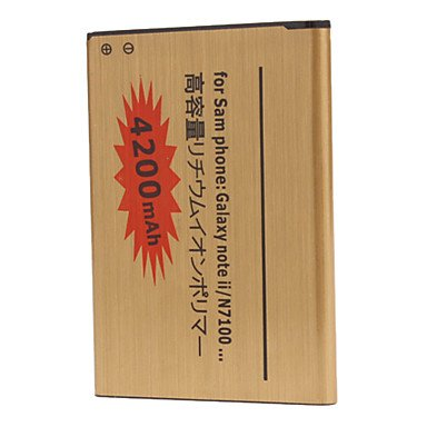 Yyt- 4200Mah Cell Phone Battery For Samsung Galaxy Note2 N7100