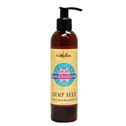 Earthly Body Hand and Body Lotion, Wild Surf, 8-Ounce Bottles (Pack of 2)