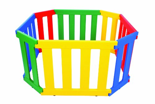 TikkTokk Universal Playpen (Multi-Coloured)