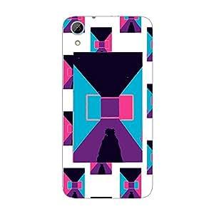 Garmor Designer Plastic Back Cover For HTC Desire 826