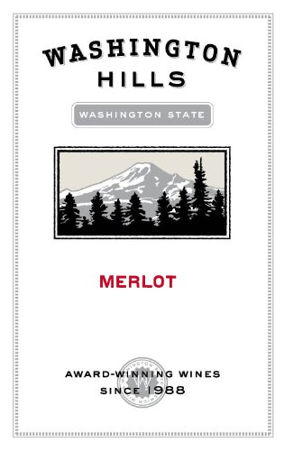 2012 Washington Hills Merlot Washington 750 Ml