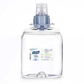 PURELL 5199-03 Advanced Skin Nourishing Instant Hand Sanitizer Foam, 1,000 mL FMX-12 Refill (Case of 3)