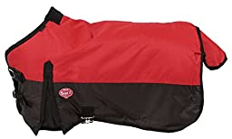 Tough 1 600D Waterproof Poly Miniature Turnout Blanket, Red, 46\