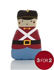 Hot Water Bottle with Soldier Shaped Cover
