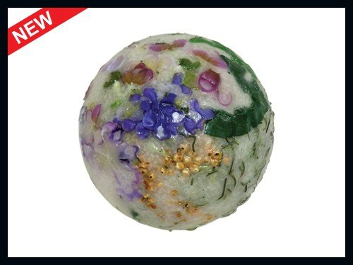 Habersham Candle Company Scented Wickless Wax Candle Sphere, Lilac Blossom