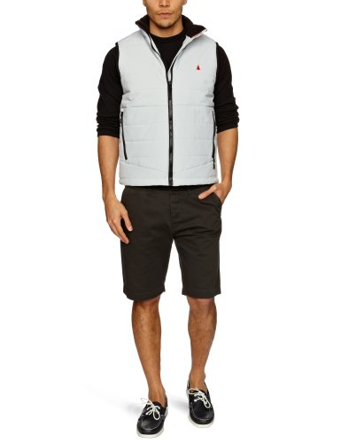 Musto Light Men's Gilets Clear Grey Large