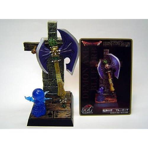 드래곤 퀘스트 레전드 아이템의 갤러리~전설의 아이템편~ 마신의 도끼/블루 O 부  단품