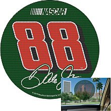 NASCAR Dale Earnhardt Jr Perforated Decal