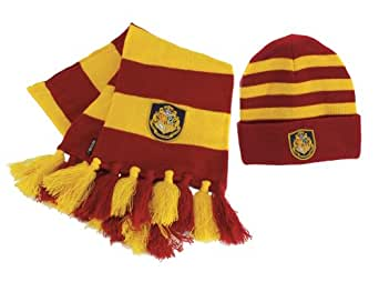 Hogwart's Knit Hat Scarf