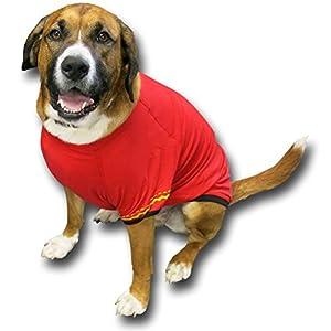 Star Trek Uniform Dog Shirt - Spock, Kirk, Uhura (Skirt), and Scottie - Outfit your Dog for the Enterprise