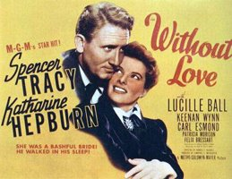 Without Love Katharine Hepburn Spencer Tracy Dvd!