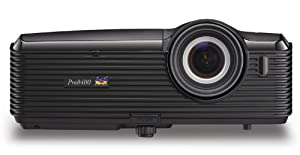 ViewSonic PRO8400 1080p DLP Installation Projector - 4000 Lumens, 3000:1 DCR, Dual HDMI, 20W Speakers