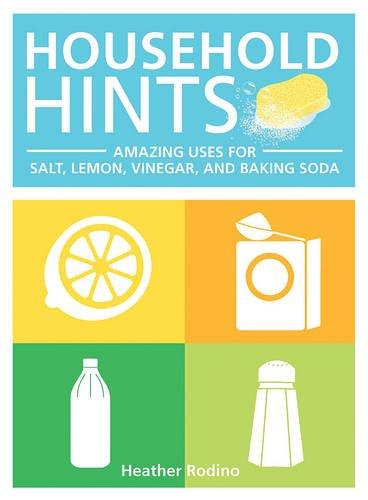 Household Hints: Amazing Uses for Salt, Lemons, Vinegar and Baking Soda (Books On Baking Soda compare prices)