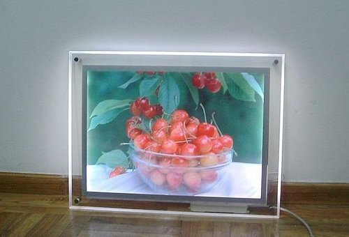 Gowe Super Slim Led Crystal Light Box A3 Size Single Side