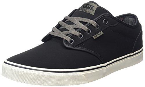 vans-atwood-zapatillas-para-hombre-negro-mte-flannel-black-bungee-43-eu