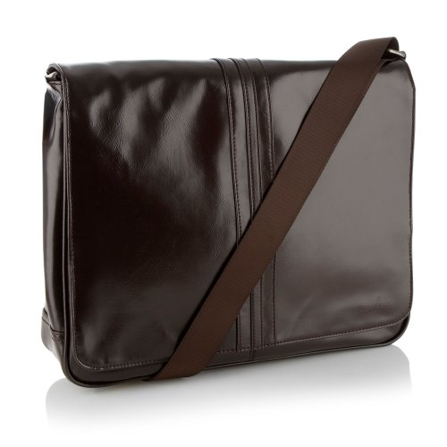 Jeff Banks Designer Brown Despatch Bag