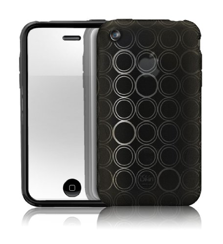 【正規品】 iSkin ソフトケース solo FX Special Edition for iPhone 3G/3GS Black SOLOSE-BK