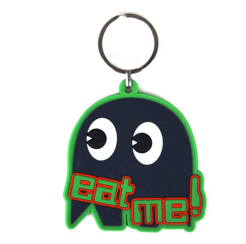 PacMan's Ghost Eat Me Keyring