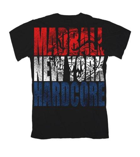 """""""NY colori"""" Madball T-Shirt nero 46/48"""