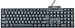 Umax Swift 7302 BLK PS2 Keyboard (UM_S-7302-PS2)