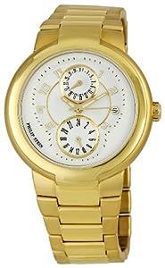 Philip Stein 31-AGW-GSS - Reloj analógico de cuarzo para mujer, correa de oro amarillo color dorado