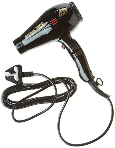Parlux 3800 - Secador de pelo, color negro