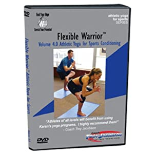 Flexibility 4.0 DVD Athletic Yoga for Sports Conditioning by Sports Life