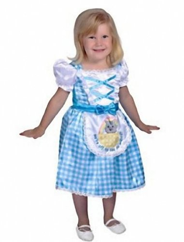 Wizard of Oz Dorothy Little Farm Girl Toddler Halloween Costume 2T