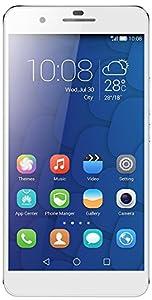 Honor 6 Plus Smartphone débloqué 4G (Ecran : 5.5 pouces - 32 Go - Double SIM - Android 4.4 KitKat) Blanc