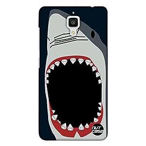 Designer Xiaomi MI 4 Case Cover Nutcase Bling Jaws Shark