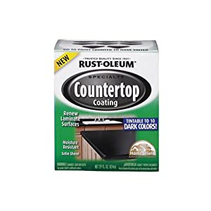 Rustoleum Countertop Paint White : RUST-OLEUM 254853 Quart Interior Countertop Coating - Rustoleum Dark ...