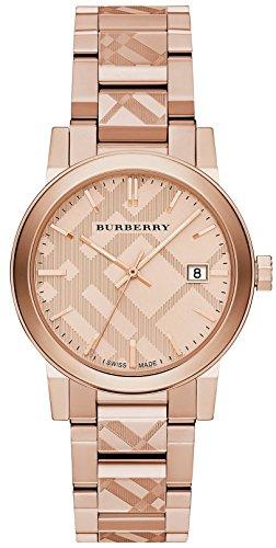 Burberry Rose Gold-Tone Dial Stainless Steel Quartz Ladies Watch BU9039