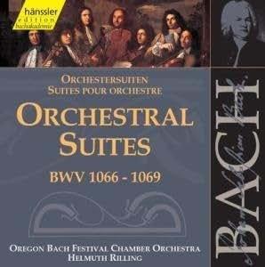 Bach: Suites pour Orchestre BWV 1066, 1067, 1068, 1069