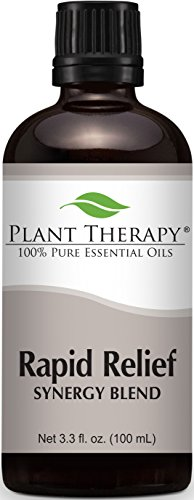 Rapid Relief Synergy (Formerly known as Pain-Aid). Essential Oil Blend. 100 ml (3.3 oz). 100% Pure, Undiluted, Therapeutic Grade. (Blend Of: Peppermint, Clove Bud, Bay Laurel, Black Pepper, Cinnamon, Ginger, German Chamomile, Juniper and Thyme)