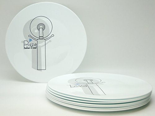 Assiette Pizza décor Cutter - 33 cm