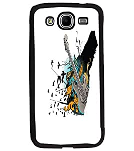 PrintDhaba Guitar D-5534 Back Case Cover for SAMSUNG GALAXY MEGA 5.8 (Multi-Coloured)