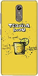 The Racoon Lean Lemon Tequila Boom hard plastic printed back case/cover for Gionee S6S