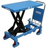 Scherenhubtischwagen manuell,Hydraulikpumpe,PU-Rollen,Tragfähigkeit: 800kg