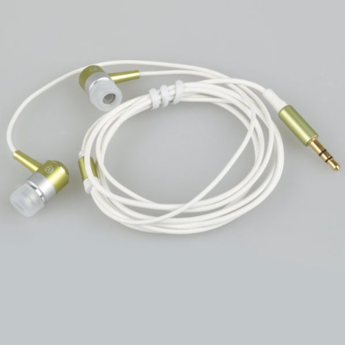 3.5Mm Stereo Metallic Earphone With 4 Ear Buds For Psp / Nds / Apple Ipod And Other Mp3 / Mp4 Player
