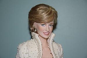 Diana Princess of Wales Porcelain Portrait Doll