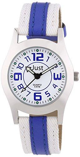 Just Watches - Orologio da polso, analogico al quarzo, similpelle, Unisex