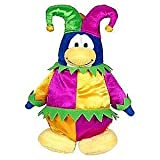 "Save $7.00 Value Deal On Rare Club Penguin Court Jester 6.5"" Plush Value Deal = Just The Rare Plush Without Coin..."