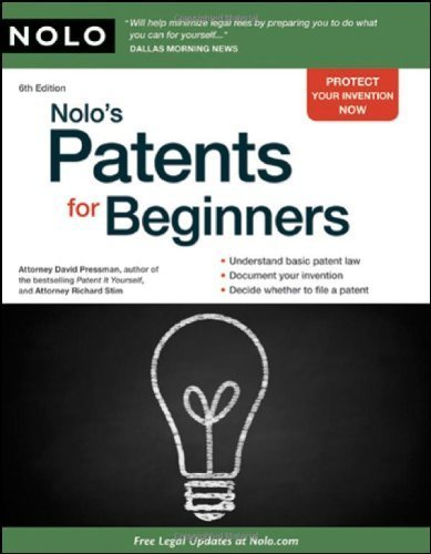 Nolo's Patents for Beginners [Paperback]